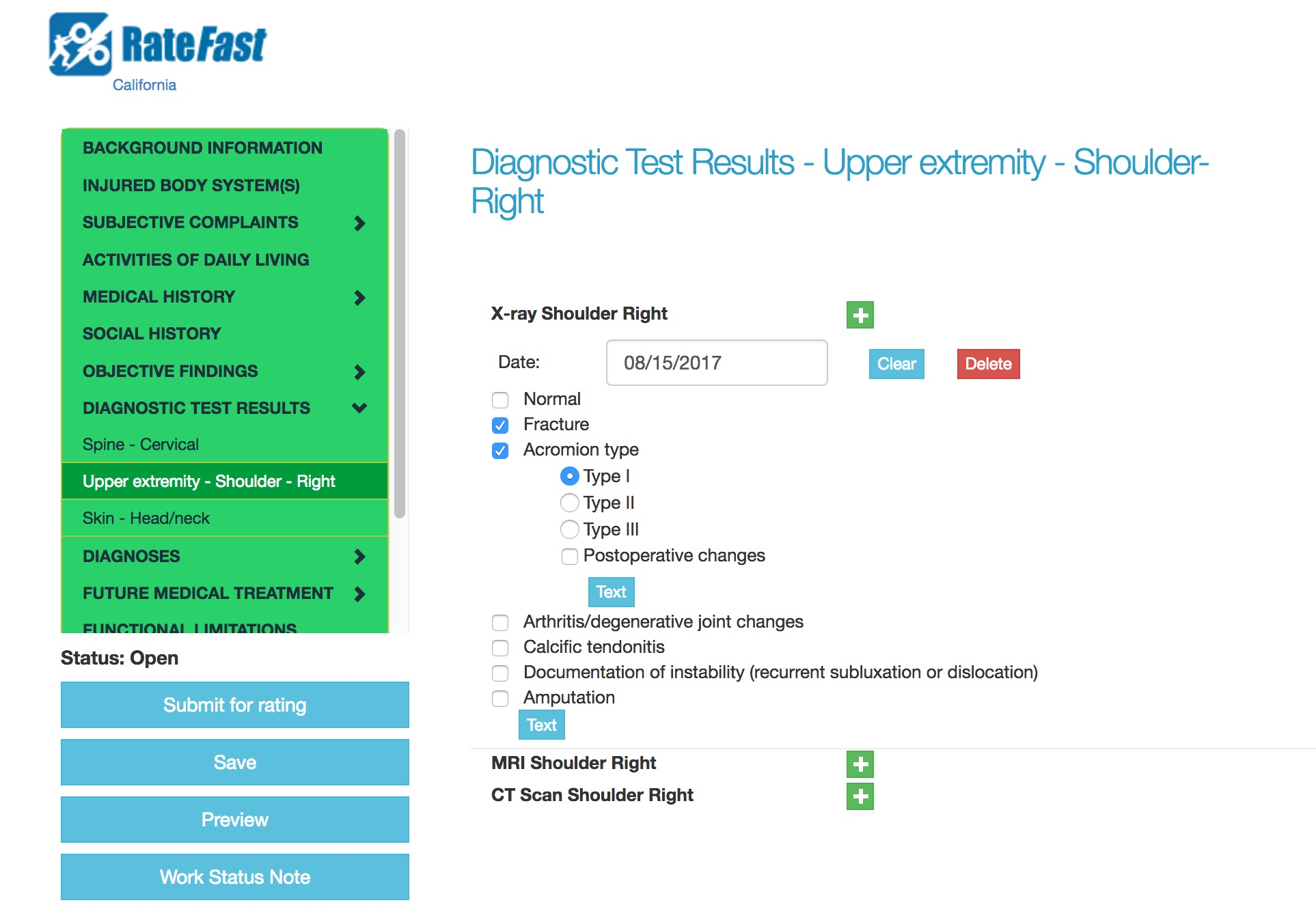 diagnostic-tests-ratefast-screenshot