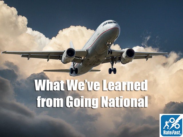 What We've Learned from Going National