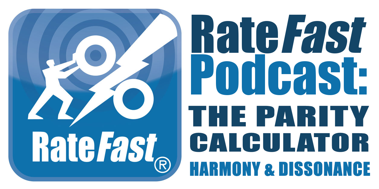 RateFast Podcast: The RateFast Parity Calculator – Harmony and Dissonance in Work Comp Reports